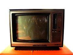 Nicht mehr im Warenkorb: Der Röhrenfernseher