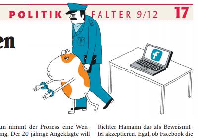 Dieser Artikel erschien im Falter. Die wunderbare Zeichnung lieferte Jochen Schievink